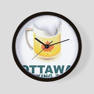 Ottawa Drinking Team Wall Clock
