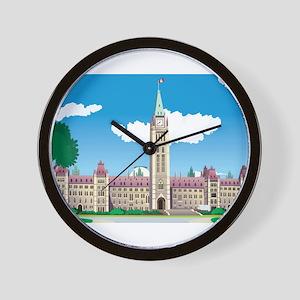 Ottawa Parliament House Wall Clock