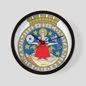 Oslo Coat Of Arms Wall Clock