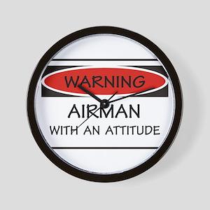 Attitude Airman Wall Clock