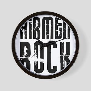 Airmen Rock Wall Clock