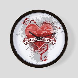 Heart Blacksmith Wall Clock