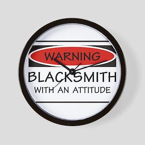Attitude Blacksmith Wall Clock