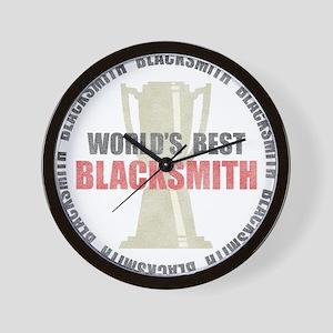 World's Best Blacksmith Wall Clock