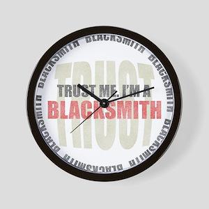Trust Blacksmith Wall Clock