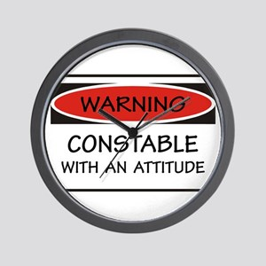 Attitude Constable Wall Clock