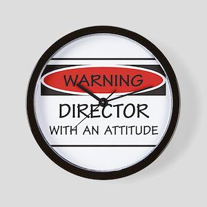 Attitude Director Wall Clock