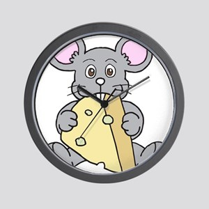 Mouse & Cheese Wall Clock