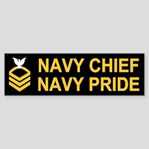 Chief Petty Officer<BR> Bumper Sticker 1