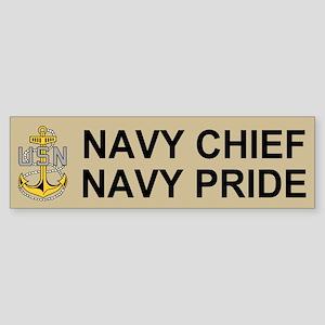 Chief Petty Officer<BR> Bumper Sticker 4