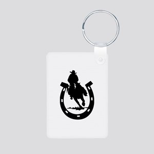 Horse Aluminum Photo Keychain