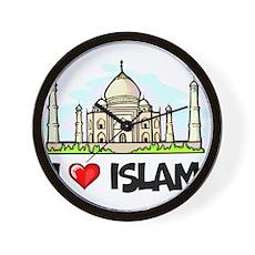 I Love Islam Wall Clock