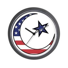 American Muslim Wall Clock