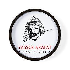Yasser Arafat Wall Clock
