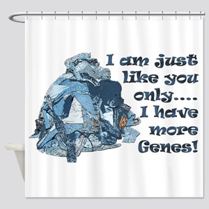 More Jeans Shower Curtain