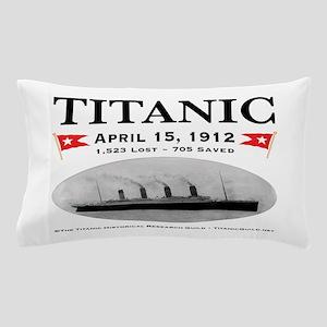 Titanic Ghost Ship (white) Pillow Case