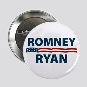 "Romney-Ryan Stars and Stripes 2.25"" Button"