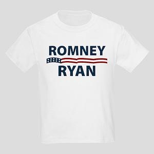 Romney-Ryan Stars and Stripes Kids Light T-Shirt