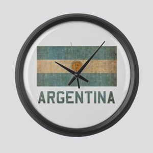 Vintage Argentina Large Wall Clock
