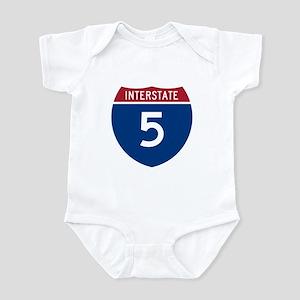 I-5 Highway Infant Creeper