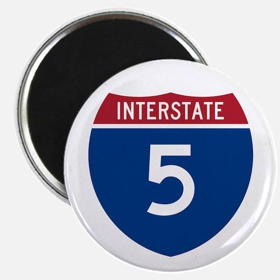 I-5 Highway Magnet