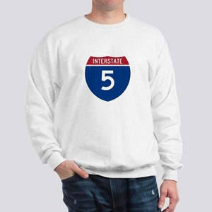 I-5 Highway Sweatshirt