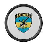 Bahamas Large Wall Clock