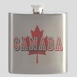 Canada Logo Flask