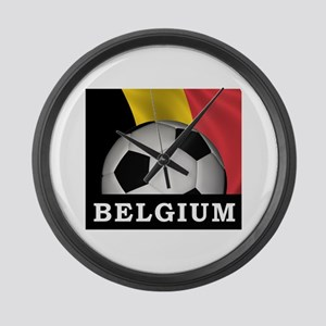 World Cup Belgium Large Wall Clock