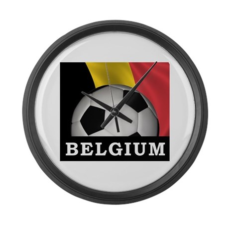 World Cup Belgium Large Wall Clock