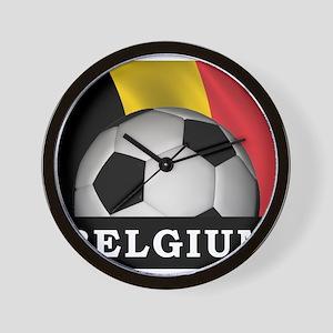 World Cup Belgium Wall Clock