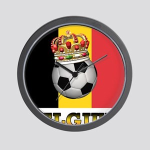 Belgium Football Wall Clock
