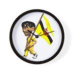 3D Brunei Wall Clock