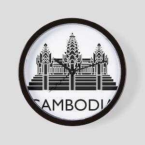 Cambodia Angkor Wat Wall Clock