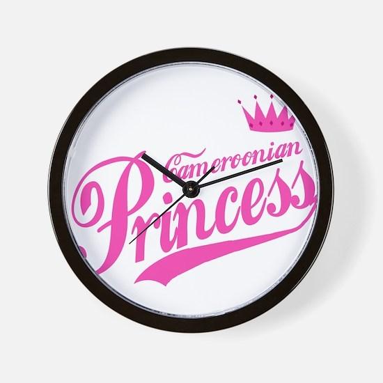 Cameroonian Princess Wall Clock