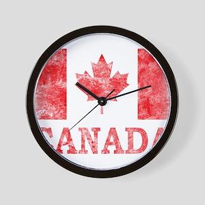 Vintage Canada Wall Clock
