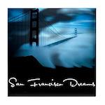San Francisco Dreams Tile Coaster