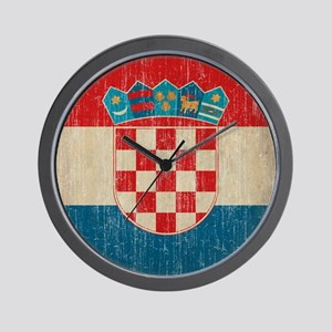 Vintage Croatia Wall Clock
