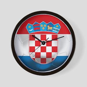Croatia Football Wall Clock