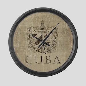 Vintage Cuba Large Wall Clock