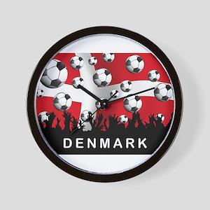 Denmark Football Wall Clock