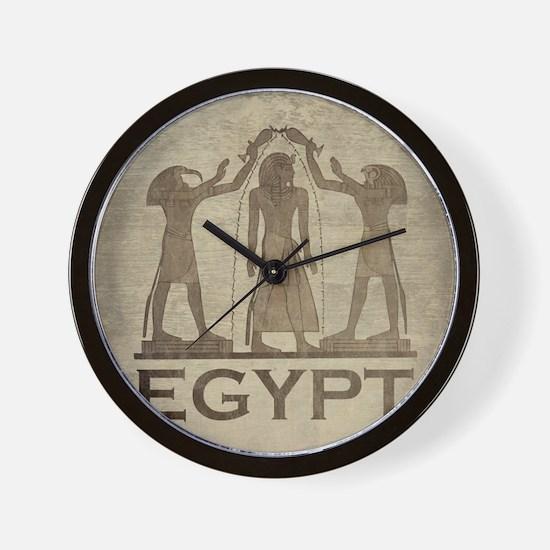 Vintage Egypt Wall Clock