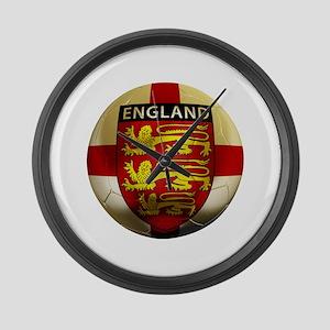 England Football Large Wall Clock