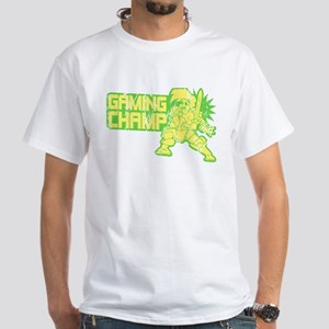 Retro Gaming Champ White T-Shirt