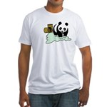Slimed Bear Fitted T-Shirt