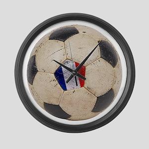France Football Large Wall Clock