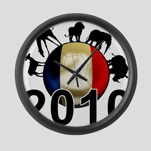 France World Cup 2010 Large Wall Clock