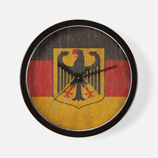 Vintage Germany Flag Wall Clock