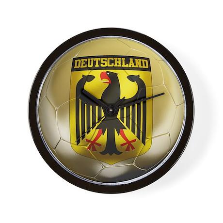 Deutschland Football Wall Clock
