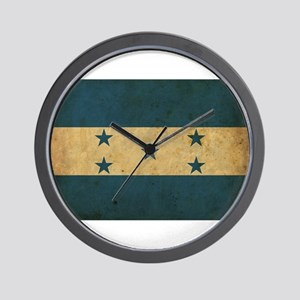Vintage Honduras Flag Wall Clock